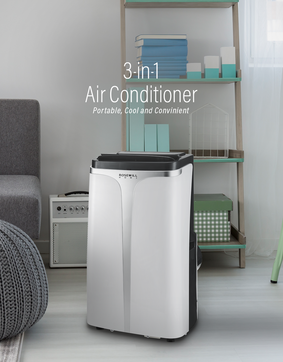 RHPA-18002 - 3-in-1 12K BTU Portable Air Conditioner ...